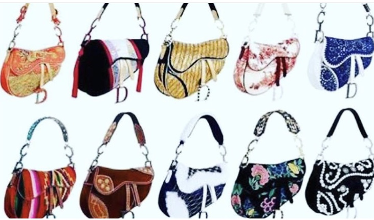 A volta da Saddle Bag da Dior