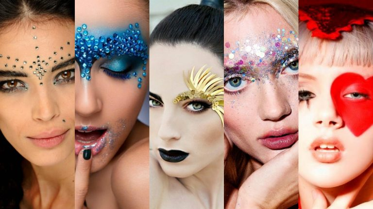 8 inspirações de maquiagens de carnaval