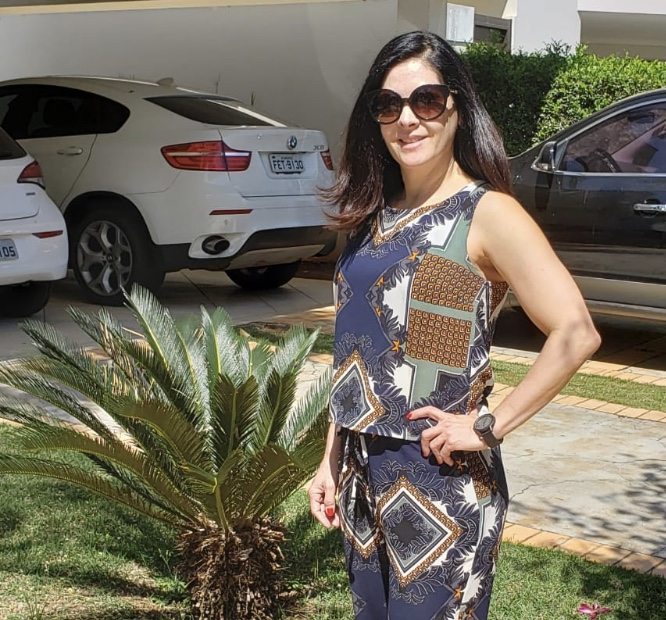 Look do dia - conjunto estampado